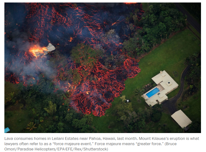Hawaii's volcanic eruption could stop a home sale. Read the fine print.